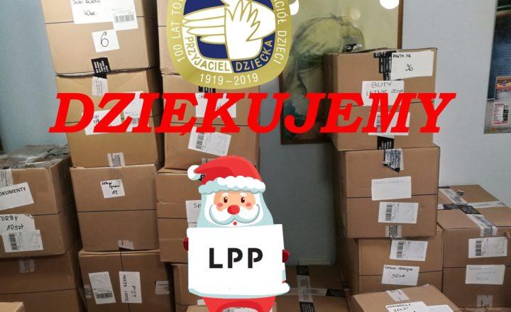 Mikołaj z Fundacji LPP